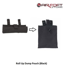 Big Foot Roll Up Dump Pouch (Black)