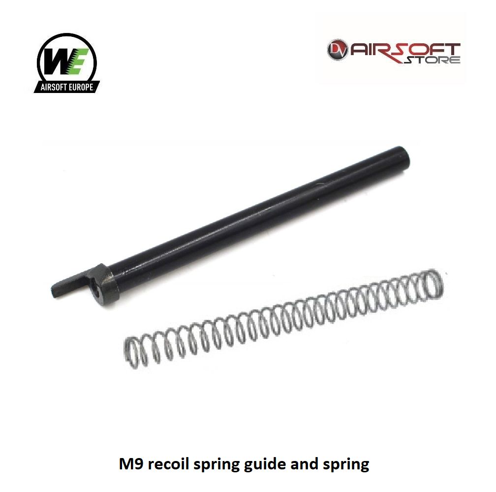 WE (Wei Tech) M9 recoil spring guide and spring