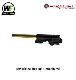 WE Europe M9 original hop-up + inner barrel