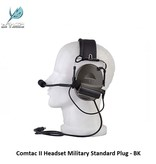 Z-Tactical Comtac II Headset Military Standard Plug - BK