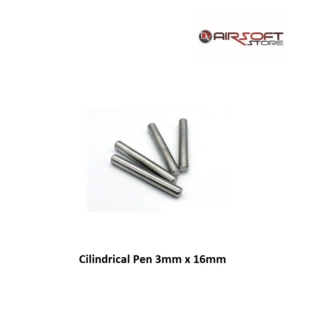Toolcraft Cilindrical Pen 3mm x 16mm