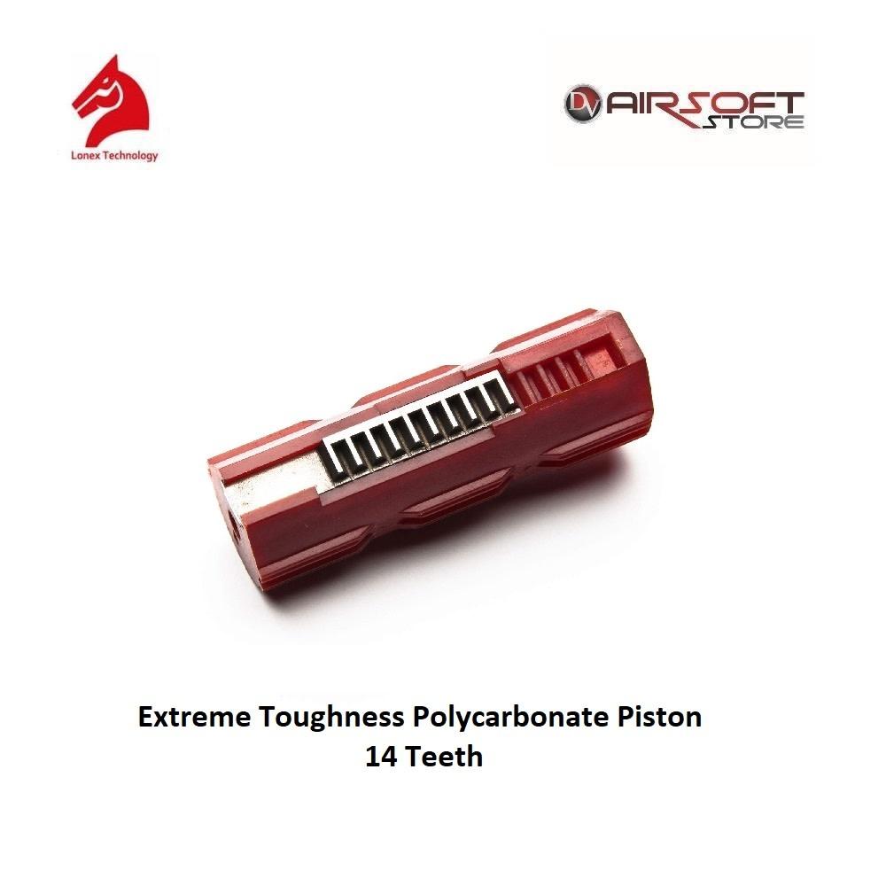 Lonex Extreme Toughness Polycarbonate Piston - 14 Teeth