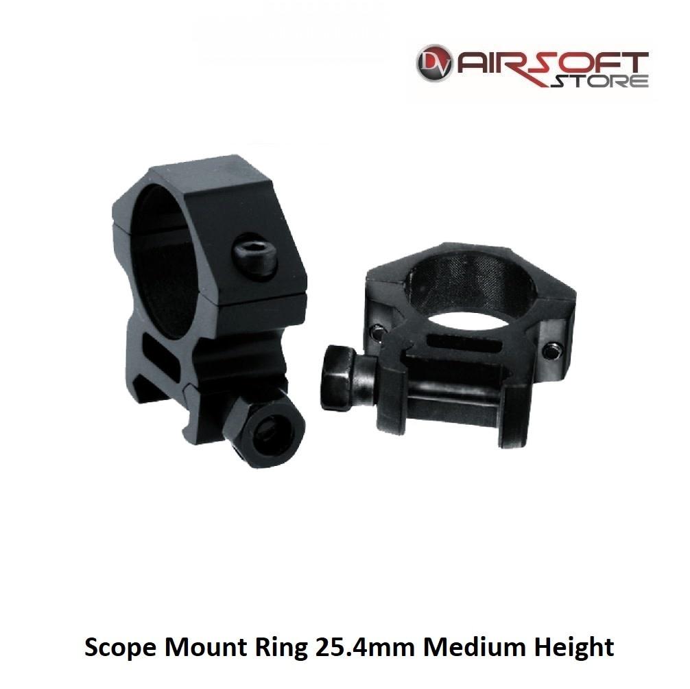 RTI Scope Mount Ring 25.4mm Medium Height