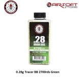 G&G 0.28g Tracer BB 2700rds Green