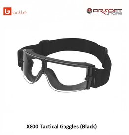 Bollé X800 Tactical Goggles (Black)