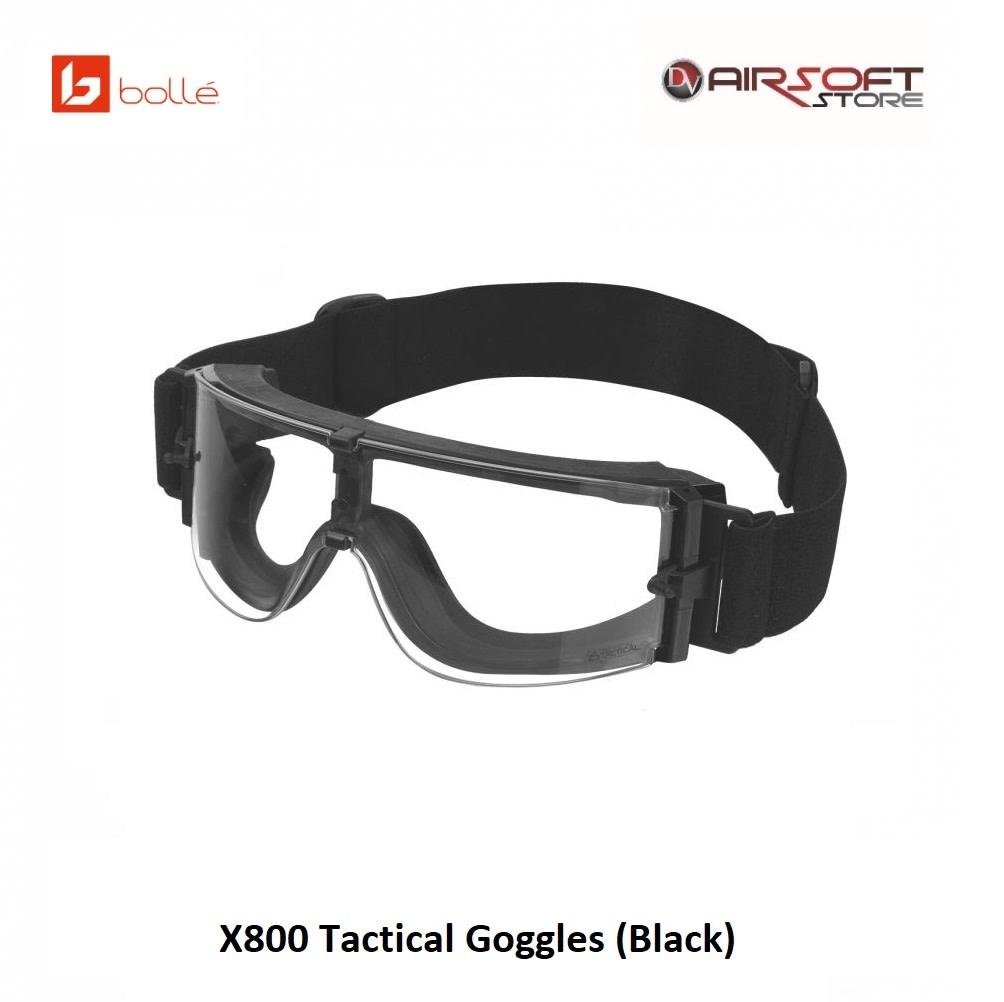 Bollé X800 Tactical Goggles (Black)
