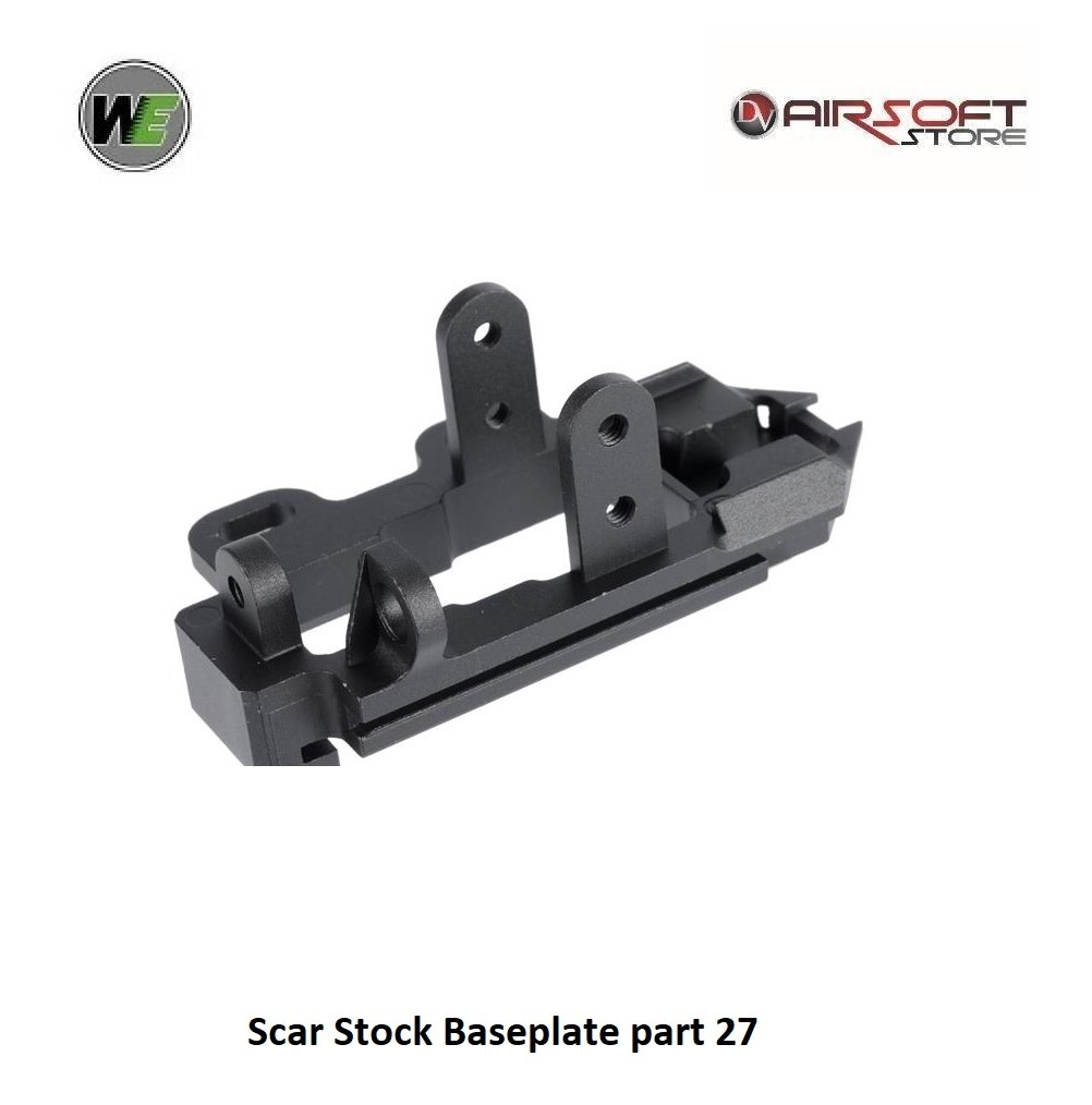 WE (Wei Tech) Scar Stock Baseplate part 27