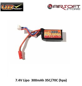 VB Power 7.4V Lipo  300mAh 35C/70C (hpa)