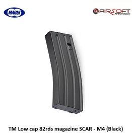Tokyo Marui TM Low cap 82rds magazine SCAR - M4 (Black)