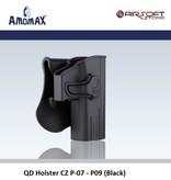 Amomax QD Holster CZ P-07 - P-09 (Black)