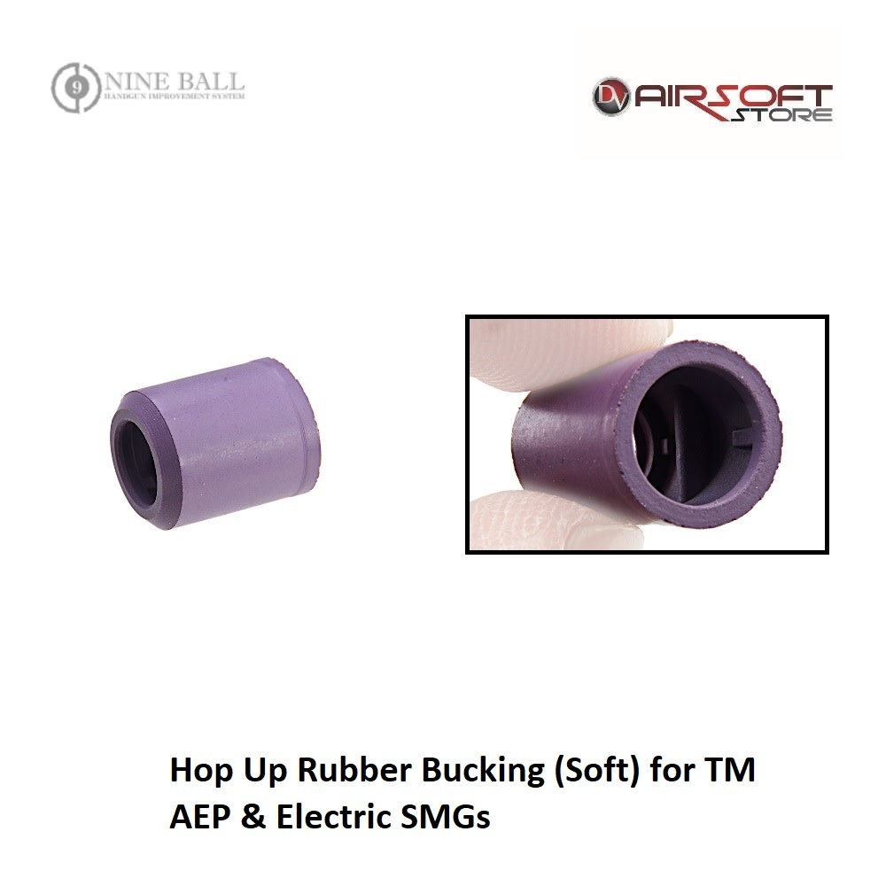 Nine Ball Hop Up Rubber Bucking (Soft) for TM AEP & Electric SMGs