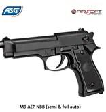 ASG M9 AEP NBB (semi & full auto)