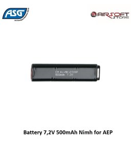 ASG Battery 7,2V 500mAh Nimh for AEP
