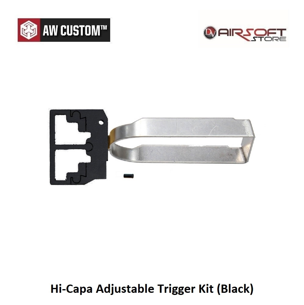 Armorer Works Hi-Capa Adjustable Trigger Kit (Black)