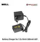 Well Battery Charger for 7.2v Nimh 500mah AEP
