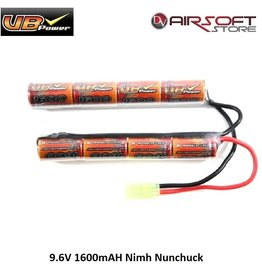 VB Power 9.6V 1600mAH Nimh Nunchuck