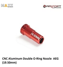 Maxx Model CNC Aluminum Double O-Ring Nozzle  AEG (19.50mm)