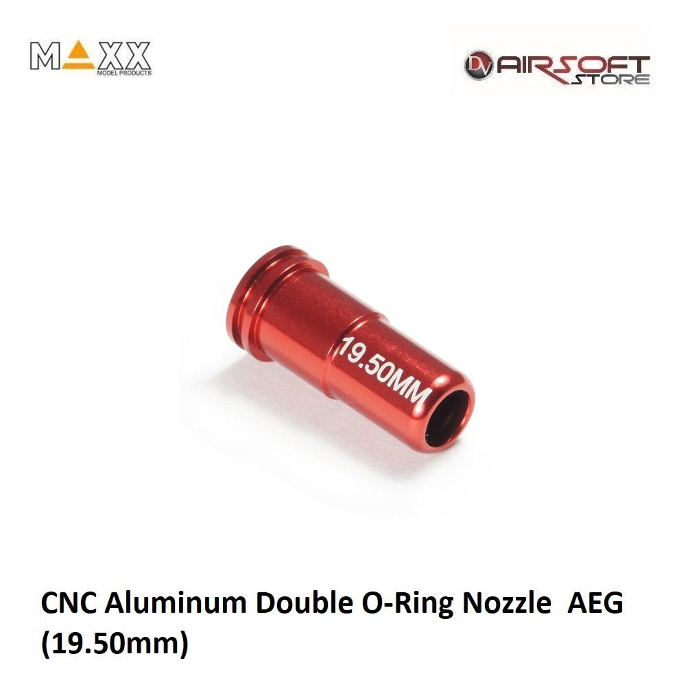 Maxx Model CNC Aluminum Double O-Ring Nozzle  AEG (19.50mm)