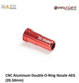 Maxx Model CNC Aluminum Double O-Ring Nozzle AEG (20.50mm)
