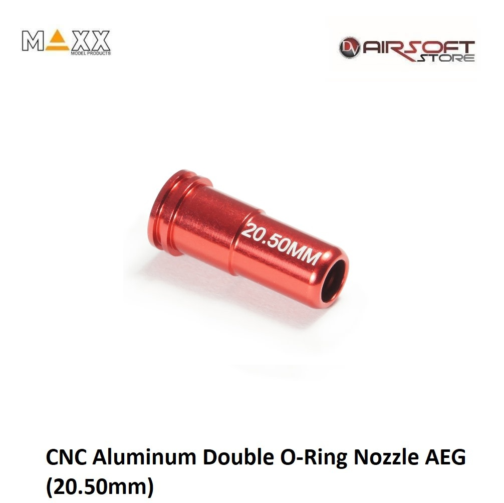 Maxx Model CNC Aluminum Double O-Ring Nozzle AEG (20.50mm)