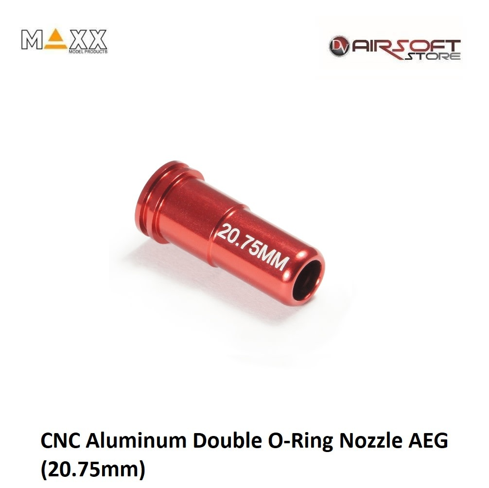 Maxx Model CNC Aluminum Double O-Ring Nozzle AEG (20.75mm)