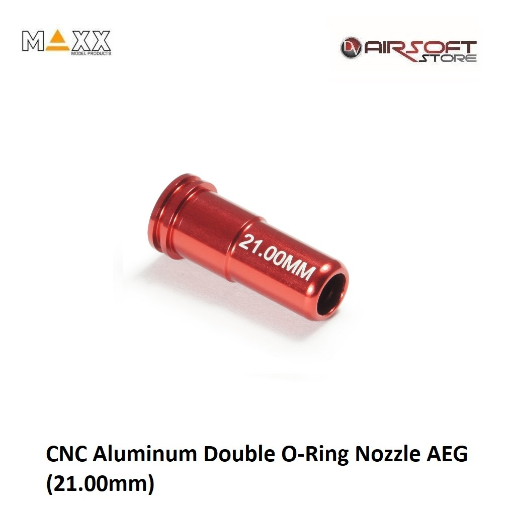 Maxx Model CNC Aluminum Double O-Ring Nozzle AEG (21.00mm)