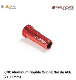 Maxx Model CNC Aluminum Double O-Ring Nozzle AEG (21.25mm)