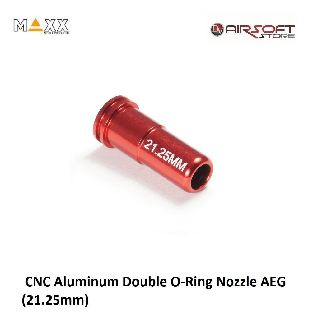 Maxx Model CNC Aluminum Double O-Ring Nozzle AEG (21.25mm)