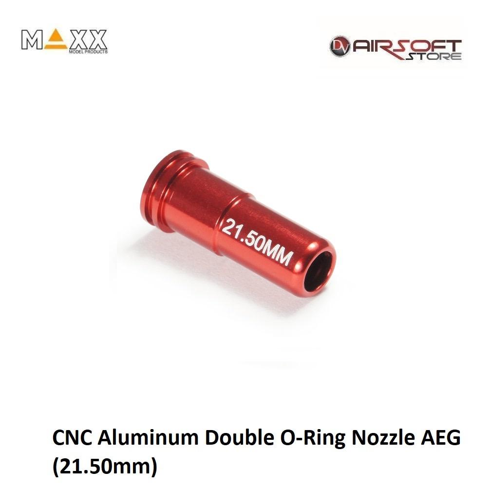 Maxx Model CNC Aluminum Double O-Ring Nozzle AEG (21.50mm)