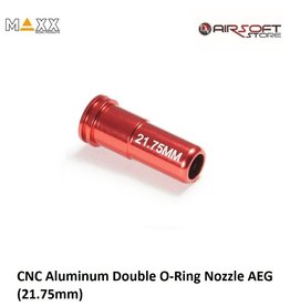 Maxx Model CNC Aluminum Double O-Ring Nozzle AEG (21.75mm)