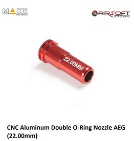 Maxx Model CNC Aluminum Double O-Ring Nozzle AEG (22.00mm)