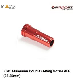 Maxx Model CNC Aluminum Double O-Ring Nozzle AEG (22.25mm)