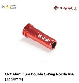 Maxx Model CNC Aluminum Double O-Ring Nozzle AEG (22.50mm)