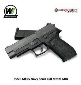 WE (Wei Tech) P226 Mk25 Navy Seals Full Metal GBB