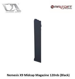 Classic Army Nemesis X9  and ARP 9 Midcap Magazine 120rds (Black)