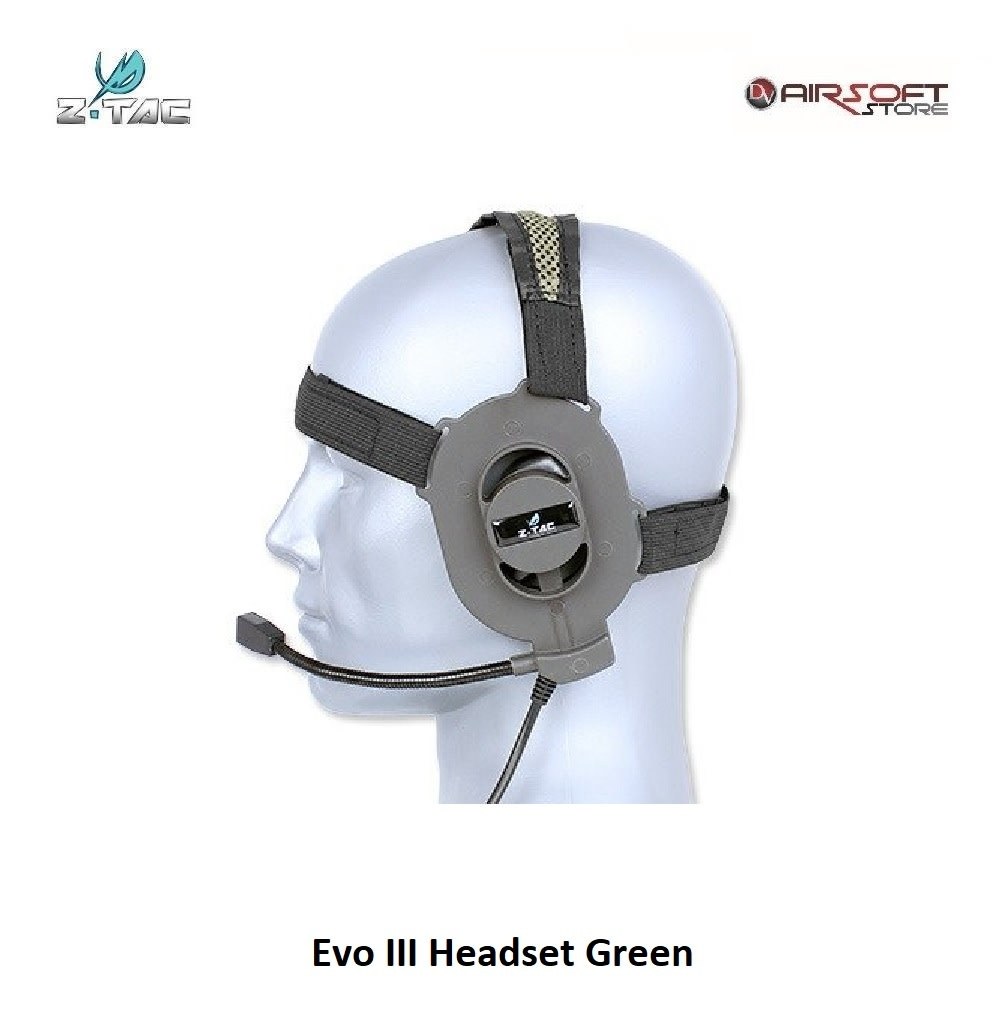 Z-Tactical Evo III Headset Green