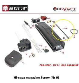 Armorer Works Hi-capa magazine Screw (Nr 9)
