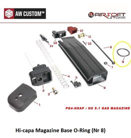 Armorer Works Hi-capa Magazine Base O-Ring (Nr 8)