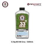 G&G 0.33g BIO BB Grey - 5600rds