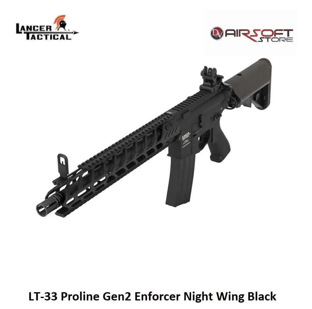 Lancer Tactical LT-33 Proline Gen2 Enforcer Night Wing Black