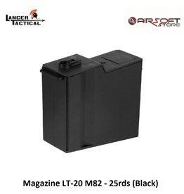 Lancer Tactical Magazine LT-20 M82 - 25rds (Black)