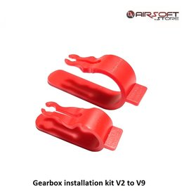 Gearbox installation kit V2 to V9