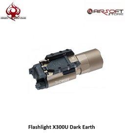 Night Evolution Flashlight X300U Dark Earth
