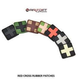 JTG Red Cross Rubber Patch 25mm