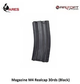 Ares Magazine M4 Realcap 30rds (Black)