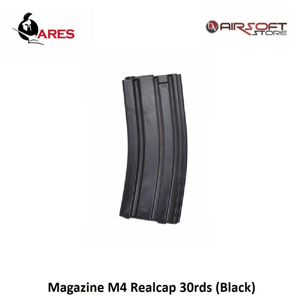 Ares Magazine M4 Realcap 30rds (Black)