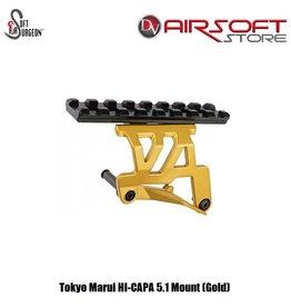 Airsoft Surgeon Tokyo Marui HI-CAPA 5.1 Mount (Gold)