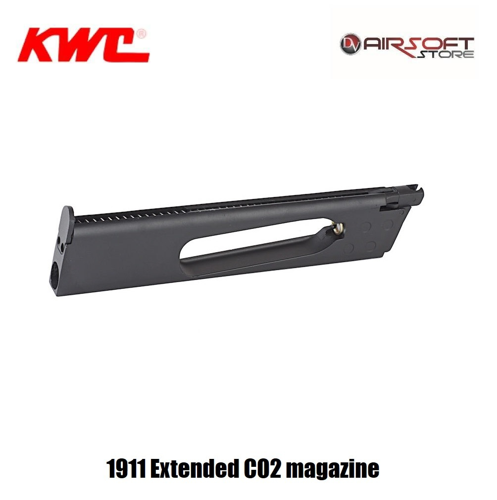 KWC 1911 Extended CO2 magazine