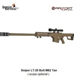 Lancer Tactical Sniper LT-20 Bolt M82 Tan 1.9J