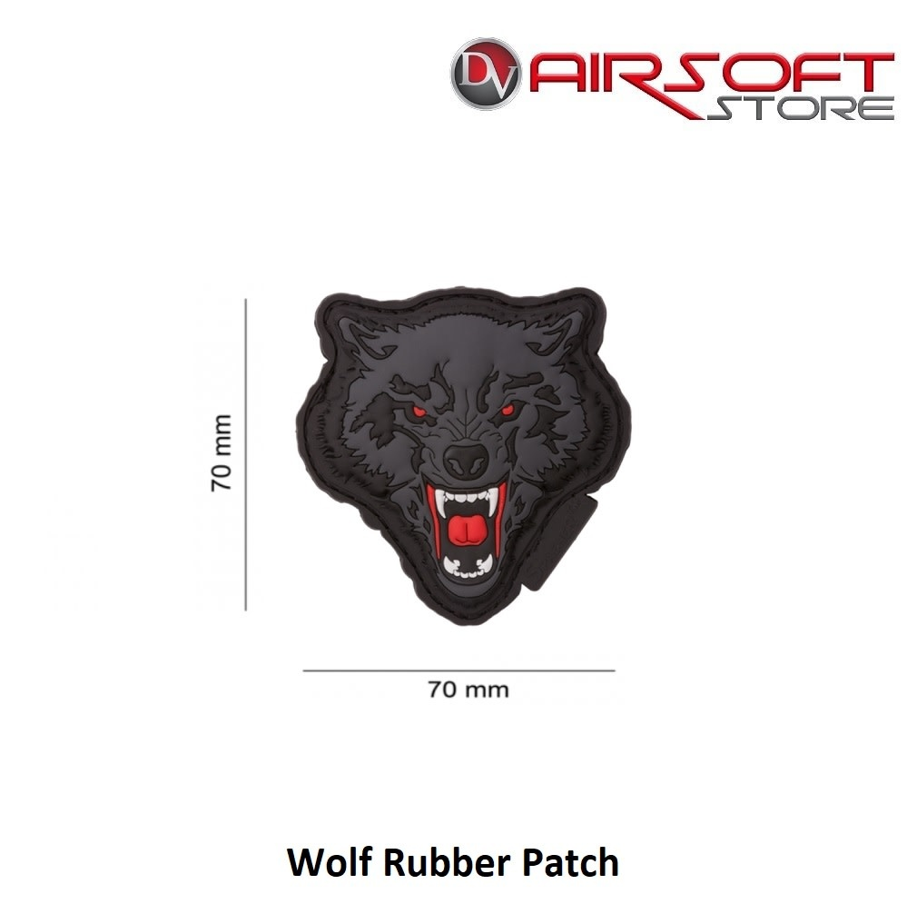 JTG Wolf Rubber Patch